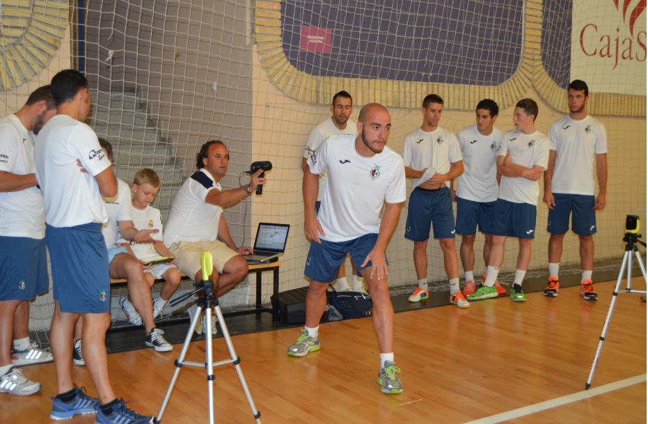 Los jugadores del Jaén FS, a examen por la UJA