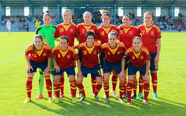 Celia Jiménez debuta en la Selección Absoluta con una victoria