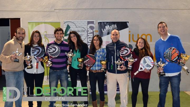 Los Maestros del padel provincial 2014 reciben sus premios (galería de fotos)