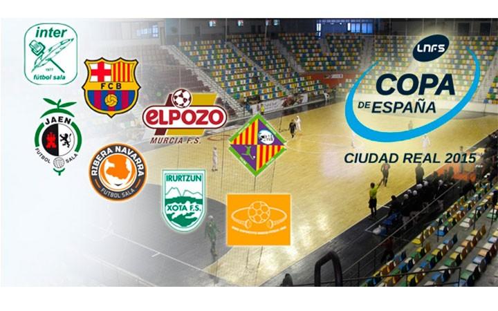 El Jaén FS ya conoce a todos los participantes en la Copa de España
