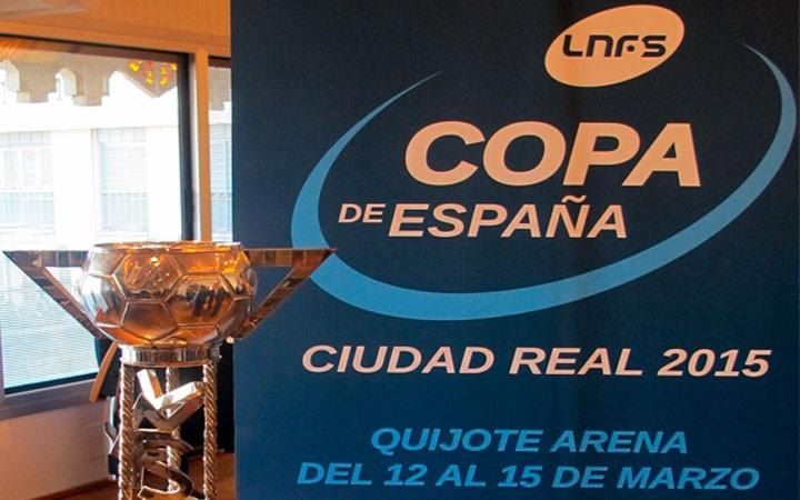 Los socios del Jaén FS ya pueden adquirir las entradas para la Copa de España