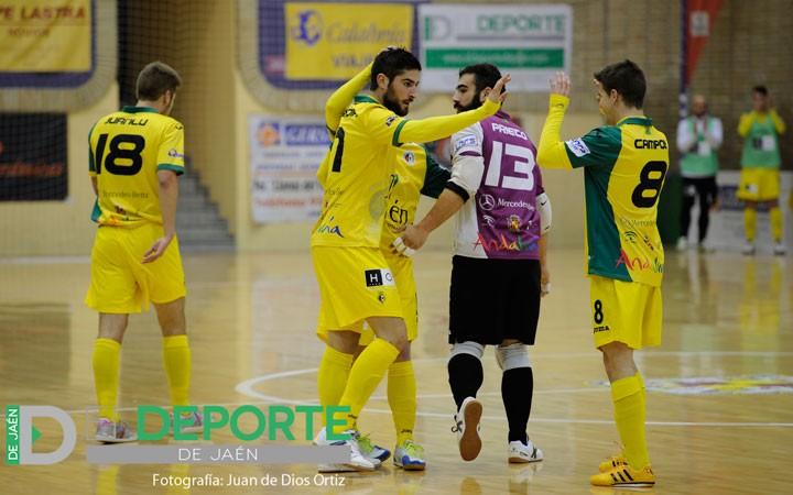 El Jaén FS vence con sufrimiento y recupera la cuarta plaza (la crónica)