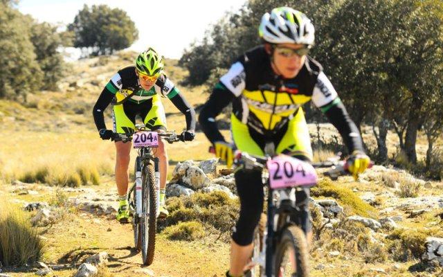 Pinto y Romero vuelven a imponerse en la cuarta etapa de la Andalucía Bike Race