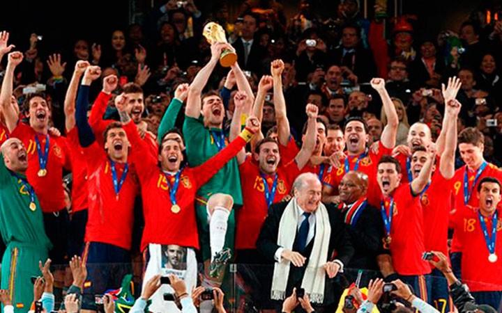 El Mundial y las Eurocopas de La Roja, presentes en la Comarca de La Loma