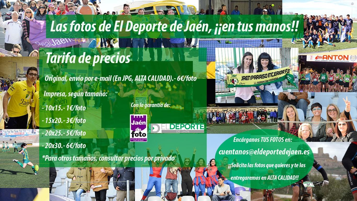 Las fotos de El Deporte de Jaén, en tus manos