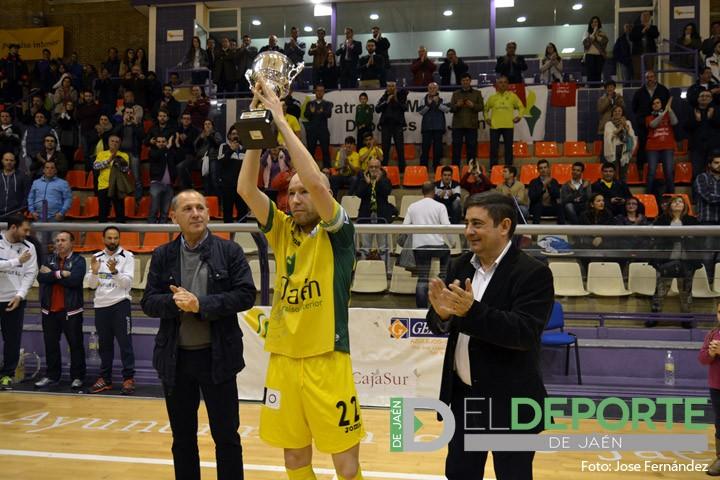El Jaén FS, campeón de la I Copa Presidente de la Diputación tras superar al Mengíbar FS