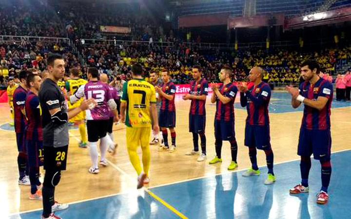 El Jaén FS vive una pesadilla en el Palau (la crónica)
