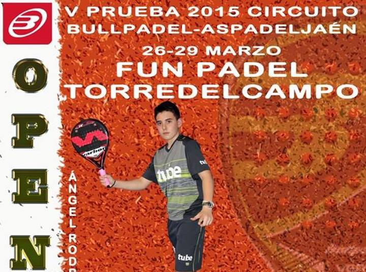 Del 26 al 29 de marzo, Open Oro Fun Padel 'Ciudad de Torredelcampo'