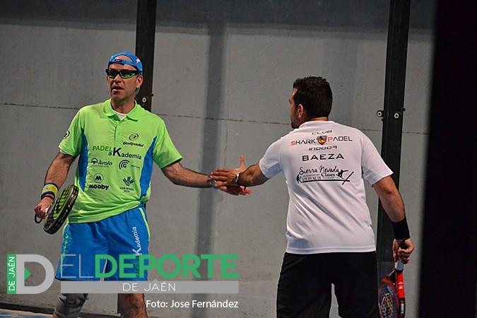 Luque/Ruiz y Serrano/Benítez se citan en la final del Open Oro 'Trofeo Clínica Luis Baños'