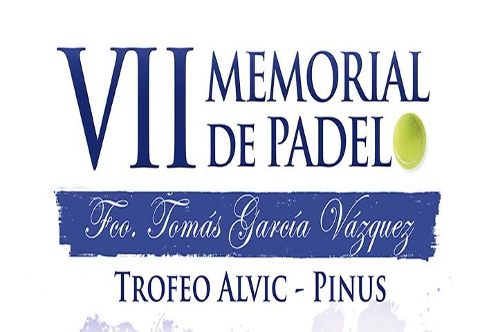 Alcaudete reúne a lo mejor del padel andaluz en el VII Memorial 'Francisco Tomás García Vázquez'