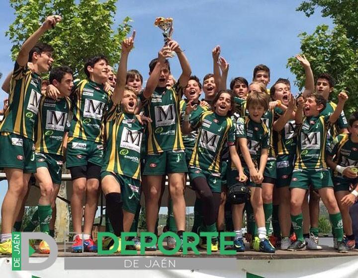 Jaén Rugby, subcampeón en el Campeonato de España Sub14 Modalidad Bronce