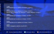 El Linares Deportivo prepara la vuelta a Segunda B (planning semanal)