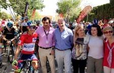 Jódar, punto de salida de la séptima etapa de La Vuelta
