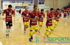 El Jaén FS prepara el encuentro de Copa del Rey y el choque frente al Burela