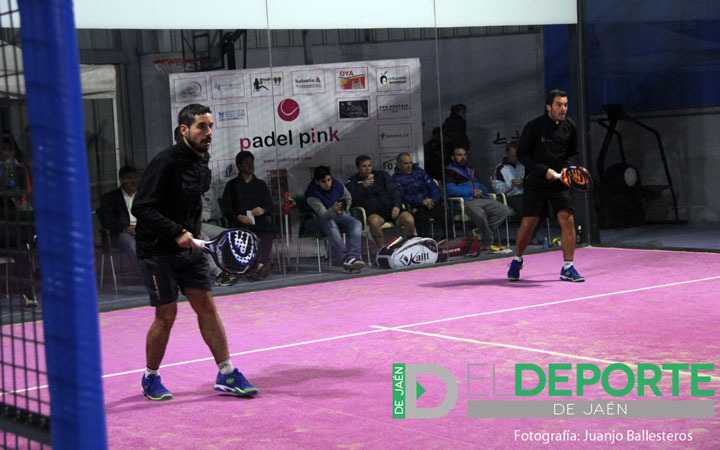 Agustín Aranda y Rafa Bellido durante su participación en el Open Oro Trofeo Helvetia. Foto: Juanjo Ballesteros.