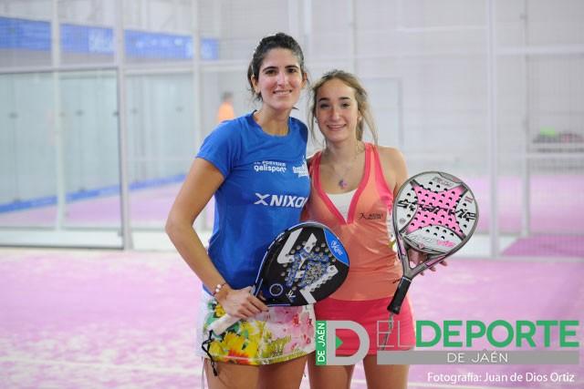 Isa y Malu buscarán el triunfo final, como ya hicieron en el Open Oro Trofeo Copi Servic. Foto: Juande Ortiz.