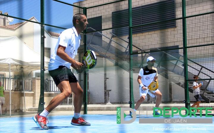 Marcos y Ñoño en su participación en el Open Oro de Peal de Becero. Foto: Juanjo Ballesteros.