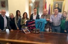 El futbolista Juan Cámara inicia sus vacaciones navideñas en Jaén