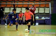 Los infantiles y los cadetes del Jaén FS e Inter disfrutaron de una tarde deportiva en La Salobreja