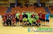 Prensa y directivos del Jaén FS disputaron su primer partido navideño