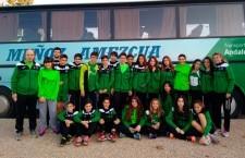 Las cadetes del Unicaja Atletismo, cuartas en el Andaluz de clubes en pista cubierta