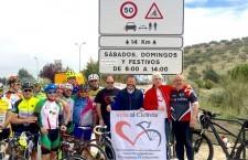 Nuevo itinerario seguro para ciclistas entre Jaén y Mancha Real