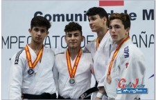 El yudoca cadete Eduardo Ordóñez participa en la Copa de Europa de Coimbra
