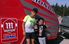 Los pilotos del Jaén Competición School se exhiben en Málaga