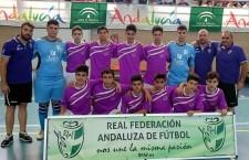 Jaén, subcampeona del Andaluz infantil de fútbol sala
