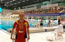 Martínez Tajuelo logra un oro, tres platas y un récord nacional en el Open Internacional de Berlín