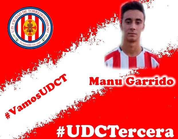 Manu Garrido regresa a la UDC Torredonjimeno