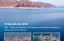El embalse del Guadalmena acogerá la I Travesía a nado por los pantanos de Jaén