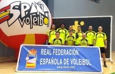El CD Otiñar se proclama subcampeón de España en el Campeonato de Veteranos de voleibol