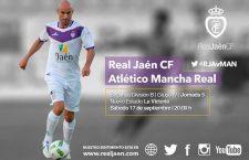 El Real Jaén-Atlético Mancha Real se disputará el sábado a las ocho