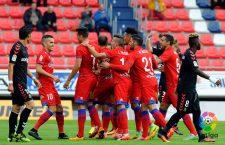 Manu del Moral anota el gol de la victoria del Numancia
