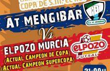 El Mengíbar FS anuncia el precio de las entradas para la Copa del Rey
