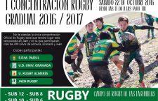 Las Lagunillas acoge este sábado la I Concentración de rugby gradual 2016-17