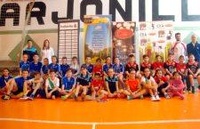 Arjonilla acoge una concentración andaluza de bádminton dentro del programa 'Se busca campeón'