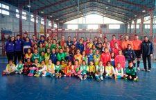 Mancha Real acoge con éxito la I Concentración Femenina Base de fútbol sala
