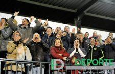 La afición en La Juventud (Atlético Mancha Real – Granada CF 'B')