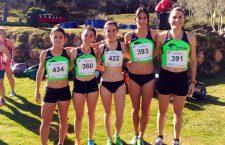 El Unicaja Atletismo logra el segundo y el tercer puesto en el Andaluz de Cross Corto