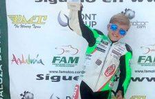 Jesús Torres no baja de los podios con la segunda posición en Málaga