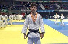 Eduardo Ordóñez, plata en la Copa de España Júnior de judo