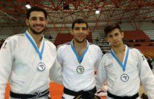 Un oro y dos platas para los jiennenses del CD Athenas en la Copa de España Absoluta de Judo