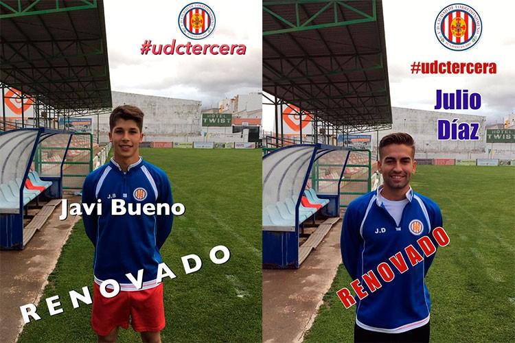 El Torredonjimeno apuesta por la renovación Javi Bueno y Julio Díaz