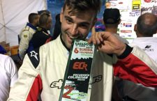 El piloto bailenense Javier Miranda sube al podio del Andaluz de Montaña