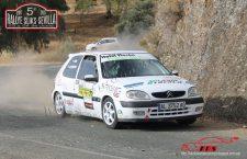 El copiloto jiennense Iván Urea volvió a la competición en el Andaluz de asfalto de Sevilla