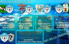 El Villacarrillo CF confecciona la pretemporada con cinco amistosos
