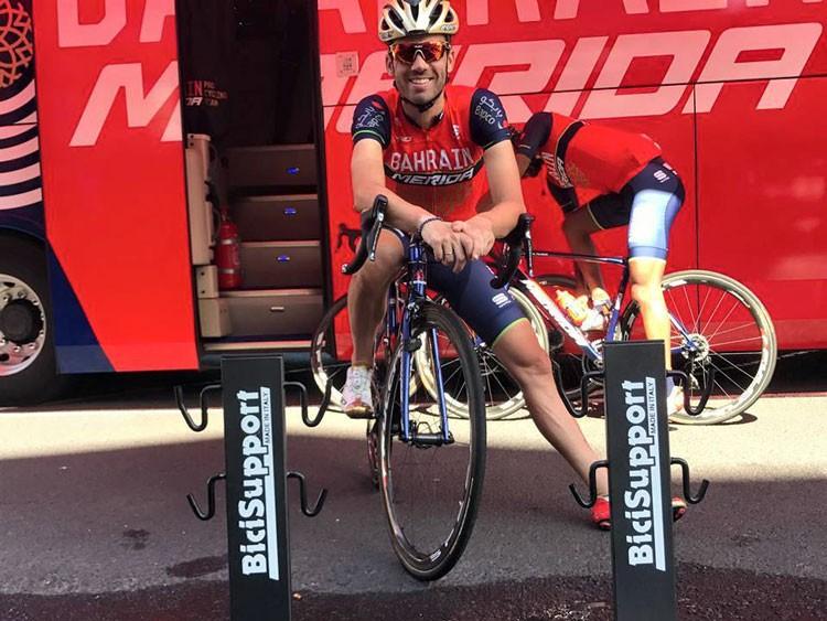Moreno abandona en La Vuelta tras una caída