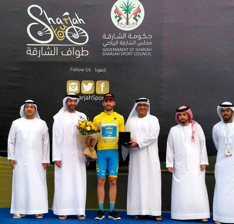 Javi Moreno se lleva el Tour de Sharjah